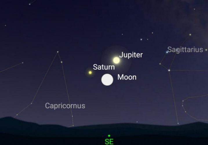 Augustus - sterren kijken